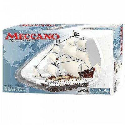 Meccano Signature – Pirate Boat Special Edition  630 Pieces / Parts New-Sealed
