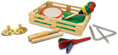 Melissa & Doug BAND IN A BOX Baby/Toddler/Child Musical Instruments BN