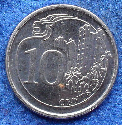 SINGAPORE - 10 cents 2013 Independent since 1965 - Edelweiss Coins
