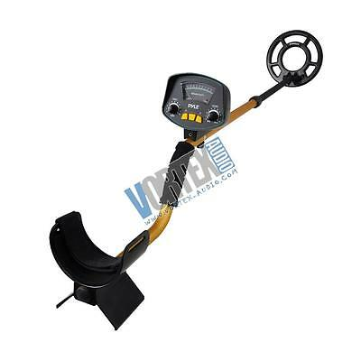 New Pyle PHMD53 Metal Detector, Waterproof Search Coil, Pin-Point Detect, Adjust