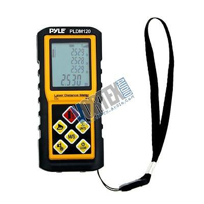 New Pyle PLDM300 300 Ft. Handheld Laser Distance Meter with Calculation