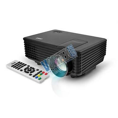 New PYLE-HOME PRJG88 COMPACT DIGITAL MULTIMEDIA PROJECTOR,HD Up to 80'' Display