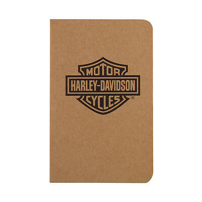 Pk/2 Harley Davidson Street Notes by Retro 51, Bar & Shield Cover, Lined Paper