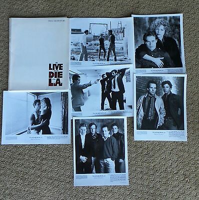 To Live And Die In L.a. Movie Press Kit William Petersen