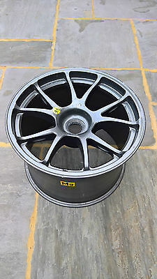 Aston Martin Racing Gulf / Total Magnesium Alloy Wheel Coffee Table Mag Alloy