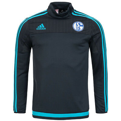 FC Schalke 04 adidas Kinder Training Top Sweatshirt S04 AB2040 Pullover Kids neu