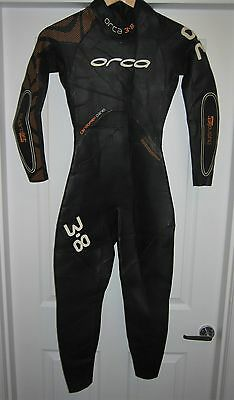 Orca Mens 3.8 Full Sleeve Wetsuit Size 5, Tri, Triathlon..............