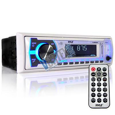 Bluetooth In-Dash Stereo Radio Headunit Receiver, Wireless Music Streaming