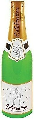 Inflatable Celebration Bottle Blow Up Toy Champagne New Wedding Party 73Cm