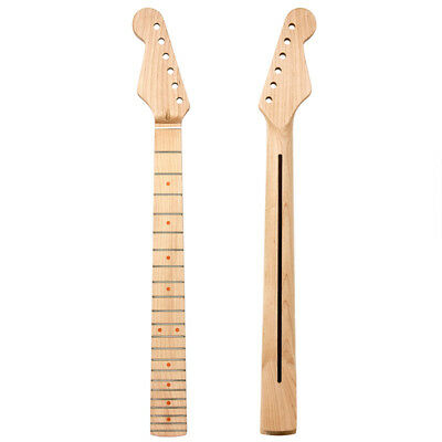 Left Handed Lefty Electric Guitar Neck for ST Parts 22 Frets Maple Rosewood