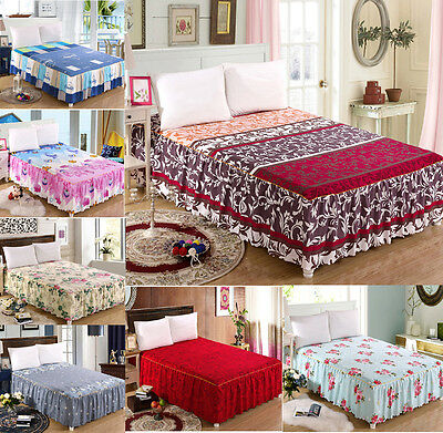 Romantic Bedding Soft Bedding Fitted Sheet (Bed Skirt)/Valance Twin Queen Size