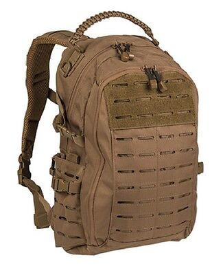 MISSION Day PACK LASER CUT SMALL Outdoor Freizeit Paracord Rucksack Coyote