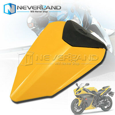 Yellow Pillion Rear Seat Cover Cowl for 2012 2013 2014 2015 Ducati 1199 12 13 14