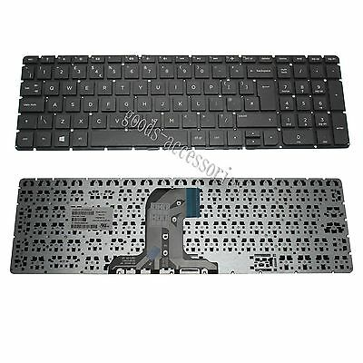 *Neuf* UK Clavier Keyboard Pour HP 250 G4 255 G4 256 G4 15-ac000 Série NO Cadre