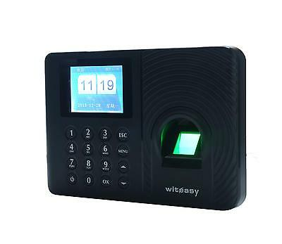 "2.4""TFT Color LCD Display Fingerprint Time Attendance Employee Check in Machine"