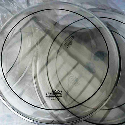 "Remo 22"" Pinstripe Clear UT Bass Drum Head Drum Skin"