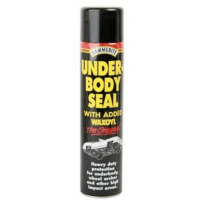 Under Body Seal Aerosol Spray 600ml Rust Treatment Contains Waxoyl - Hammerite