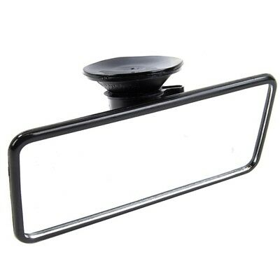 Flat Interior Mirror Rear View Suction Cup Fit Driving Glass - Summit RV30
