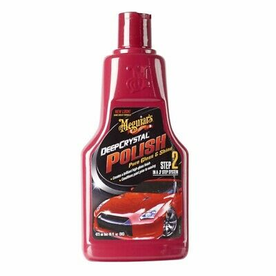 Deep Crystal System Step 2 Polish 473ml Wet Look Shine Car - Meguiars A2116