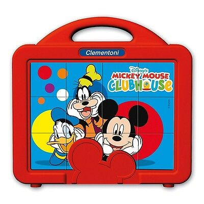 Mickey Maus - Würfel Puzzle Mickey Mouse Clubhouse 12 Teile