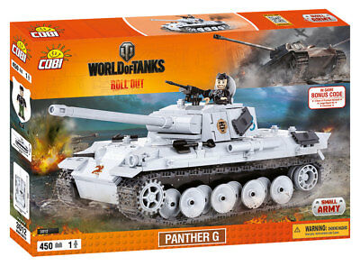 COBI 3012 - WORLD OF TANKS - WWII Dt. PANTHER AUSF. G - NEU