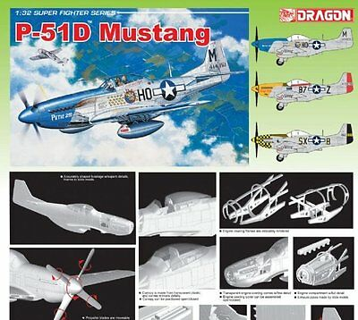 Dragon 3201 - 1/32 Us P-51D Mustang - Neu