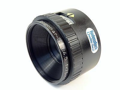 RODENSTOCK Rogonar-S 75mm f4.5  Enlarging Lens - Superb Quality Optics!