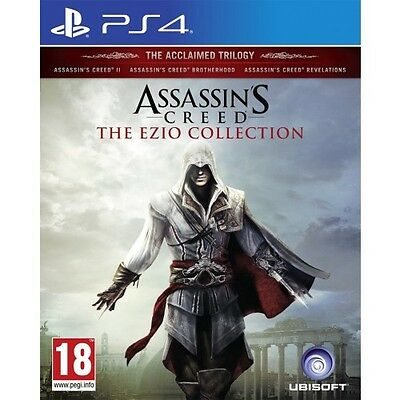Assassin's Creed The Ezio Collection (PS4) NEW & SEALED IMPORT - QUICK DISPATCH