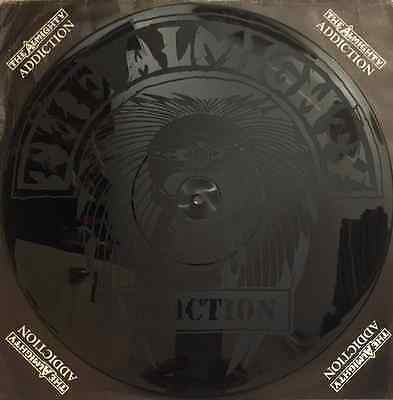 "THE ALMIGHTY - Addiction (12"") (Etched) (G-/G-)"