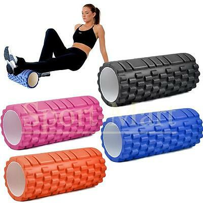 More Mile Beast Trigger Point Foam Yoga Massage Sports Gym Exercise Roller