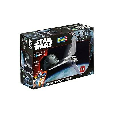 Imperial Shuttle (Rogue One A Star Wars Story) Level 2 Revell 1:106 Model Kit...