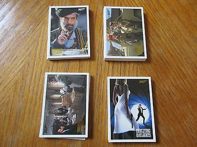 James Bond Archives 2016 SPECTRE 55 Card Gold Parallel The Living Daylights Set