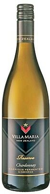 Villa Maria `Barrique Fermented ` Chardonnay 2015 (6 x 750mL), New Zealand