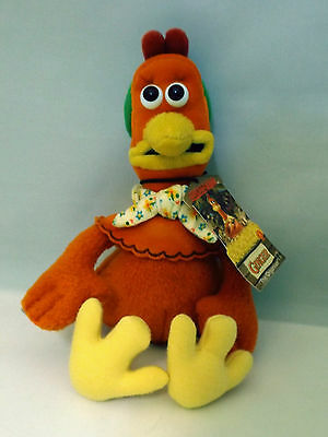"Dreamworks Chicken Run ""ginger"" With Tag Film Character Chicken Hen Soft Toy 29H"