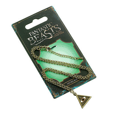 Les Animaux fantastiques collier Macusa triangle eye official macusa pendant