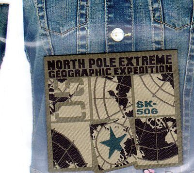 Patch Ecusson Thermocollant NORTH POLE EXTREME Pos 39