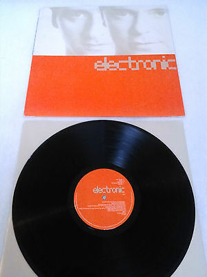 Electronic - S / T Lp + Inner!!! Uk 1St Press Factory A1 B1 Marr Sumner Smiths