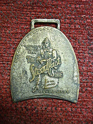 Smith Briscoe Shoe Co. - The Steadfast Shoe - Antique Heel Shaped Fob