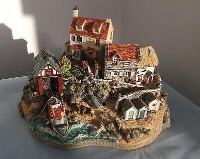 'to The Rescue' By Jane Hart Rnli Lifeboats Collection Danbury Mint
