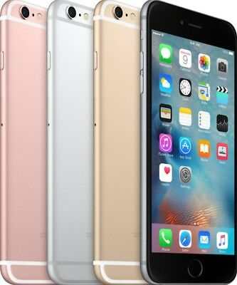 Apple iPhone 6s 16GB 64GB GSM *(AT&T)* Smartphone Cell Phone All Colors 6-S