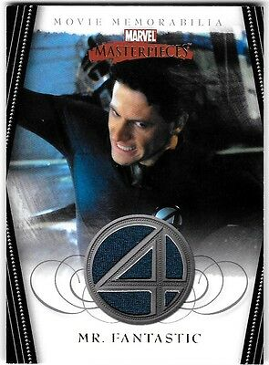 Marvel Masterpieces 2 Mr Fantastic Four Costume Wardrobe Card Red Reed FF1