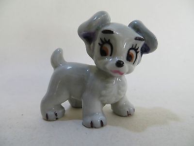 WADE Whimsie DISNEY 'SCAMP' DOG - HATBOX SERIES 'LADY & THE TRAMP' VERY GOOD