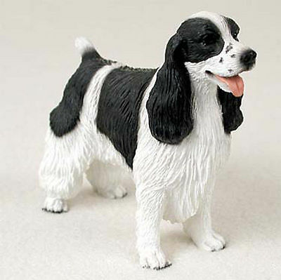 Springer Spaniel Hand Painted Dog Figurine Statue