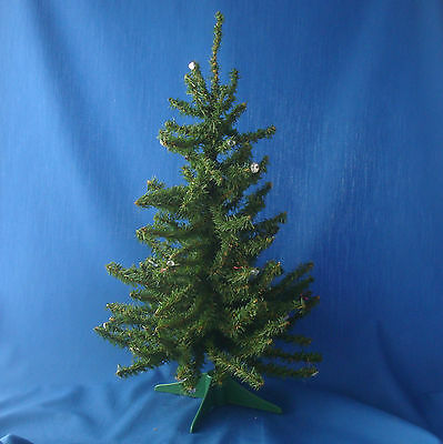 """18"""" table top Christmas tree with ½"""" mini realistic green pine branches"""