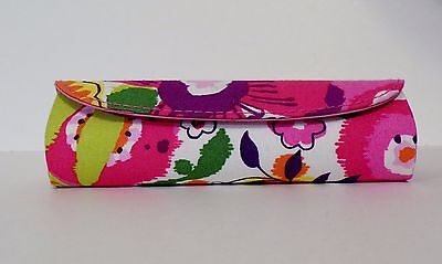 Vera Bradley CLEMENTINE Design Reading Glasses Case - Rounded, Colorful