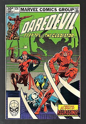 Daredevil Vol 1 No 174 Sep 1981 (VFN+ to NM-) Marvel, Modern Age