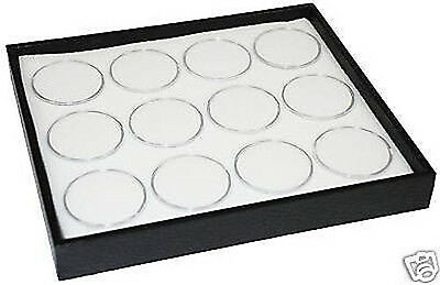 1-12 Gem Jar Tray With White Insert Jewelry Display