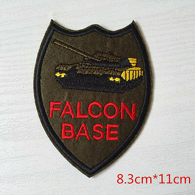 EMBROIDERED IRON ON MILITARY PATCH APPLIQUE 3401-Z