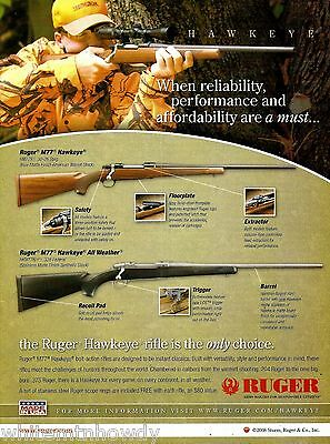 2008 RUGER M77 Hawkeye and All Weather Rifle AD