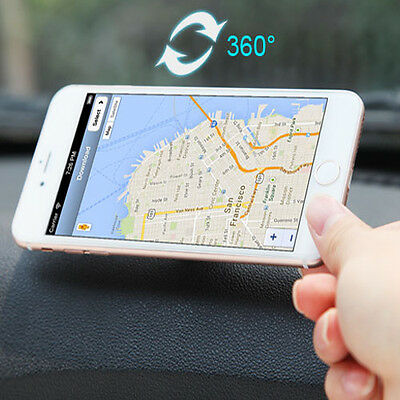 Universal 360° Car Mount Sticky Magnetic Holder Stand for Cell Phone iPhone GPS